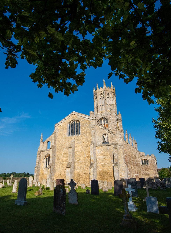Forthinghay Church graveyard 3