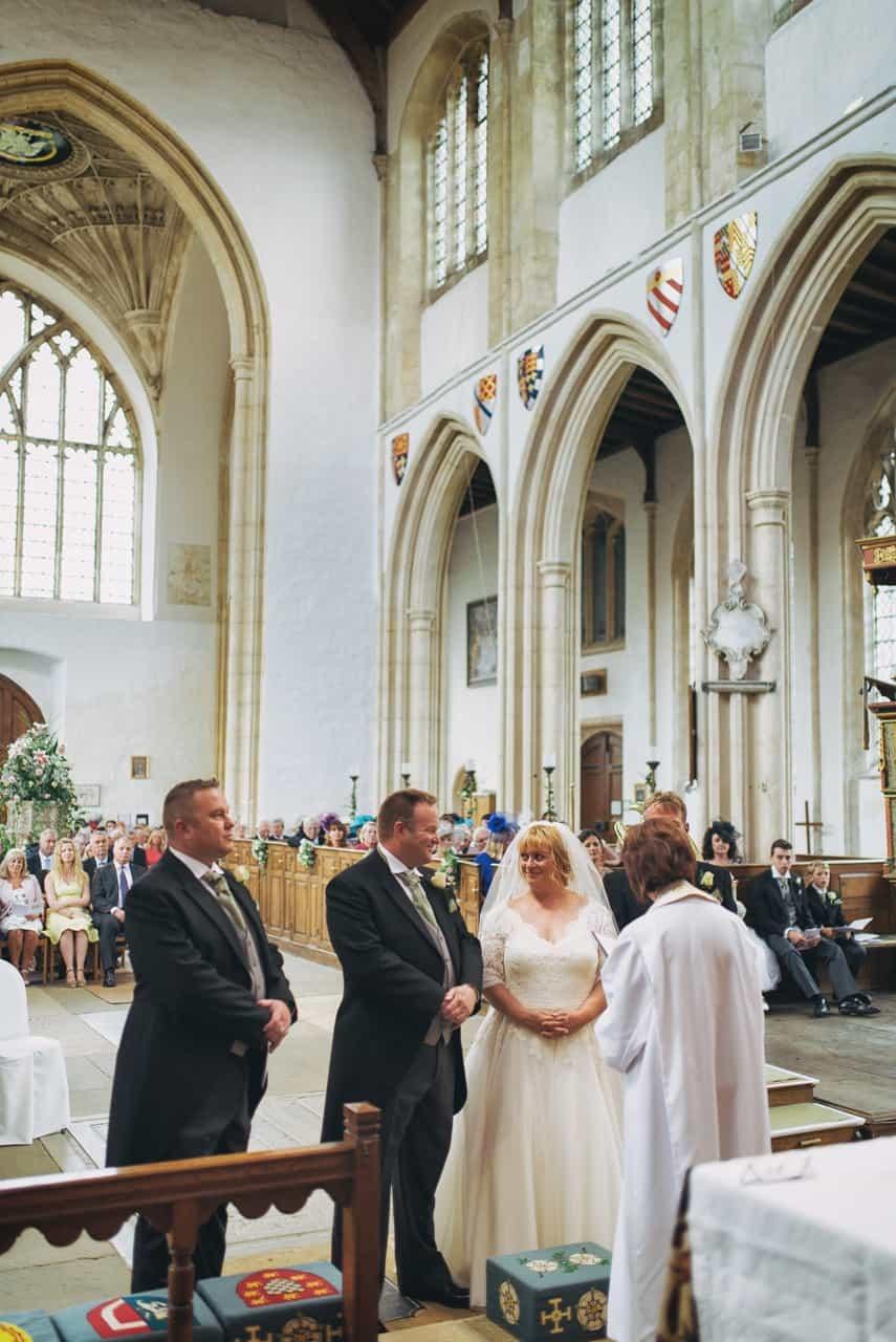 fotheringhay church marquee wedding fountian